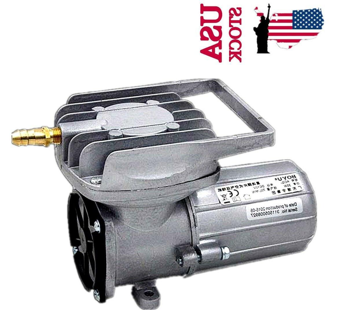 DC 12V 38L/M 18W Permanent Air Compressor Pump Fish Tank Pon