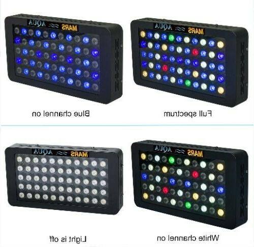 Dimmable 165W LED Light Full Reef Tank