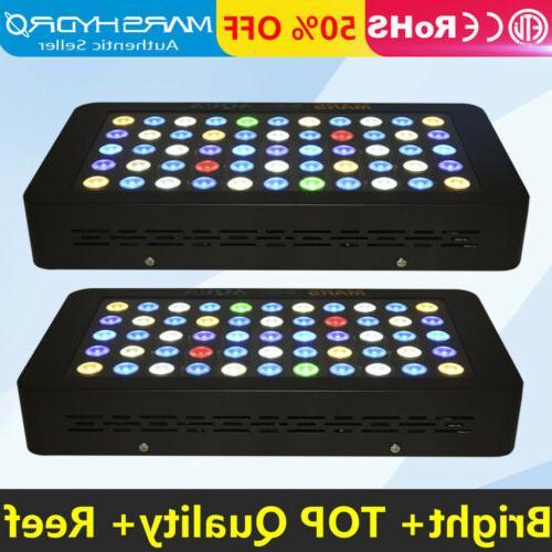 2x MarsAqua Aquarium Light Spectrum Bright Lighting SPS