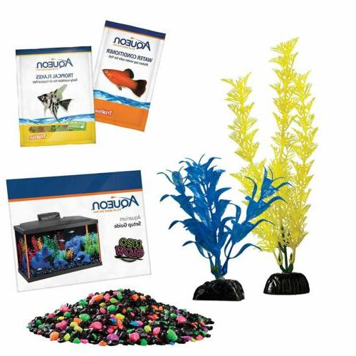 Aqueon Fish Aquarium Kits Gallon Fish Set