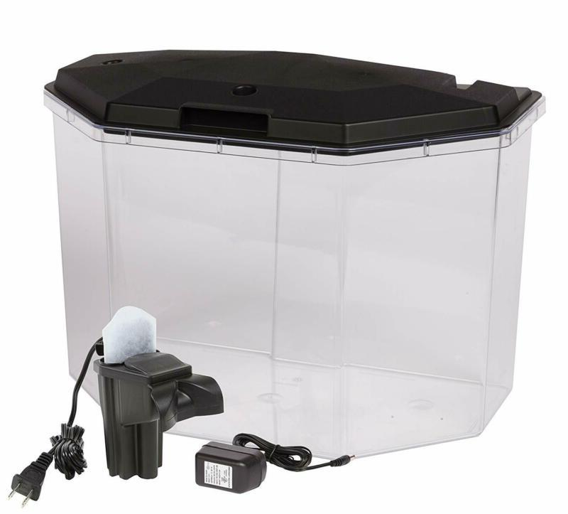 Fish Aquariums Gallon Clear Lightin