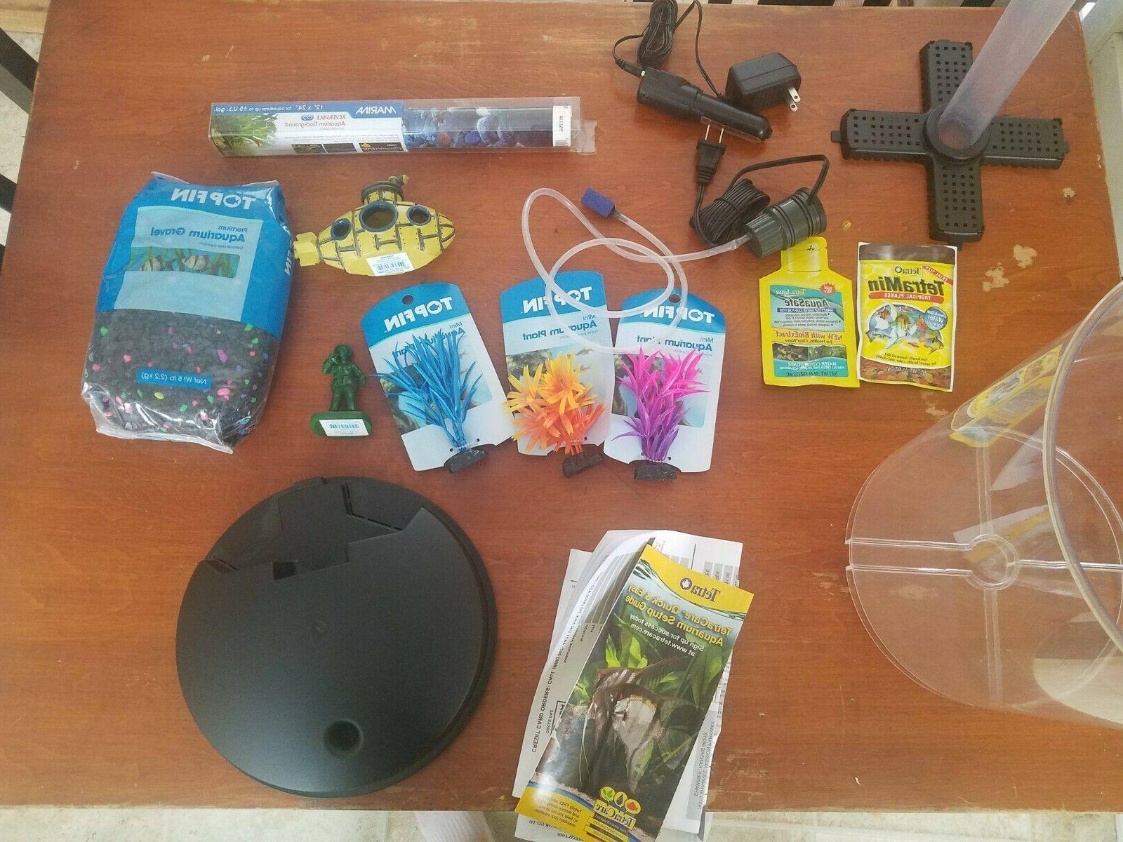 Fish & Aquatic Glofish Cylinder 3G