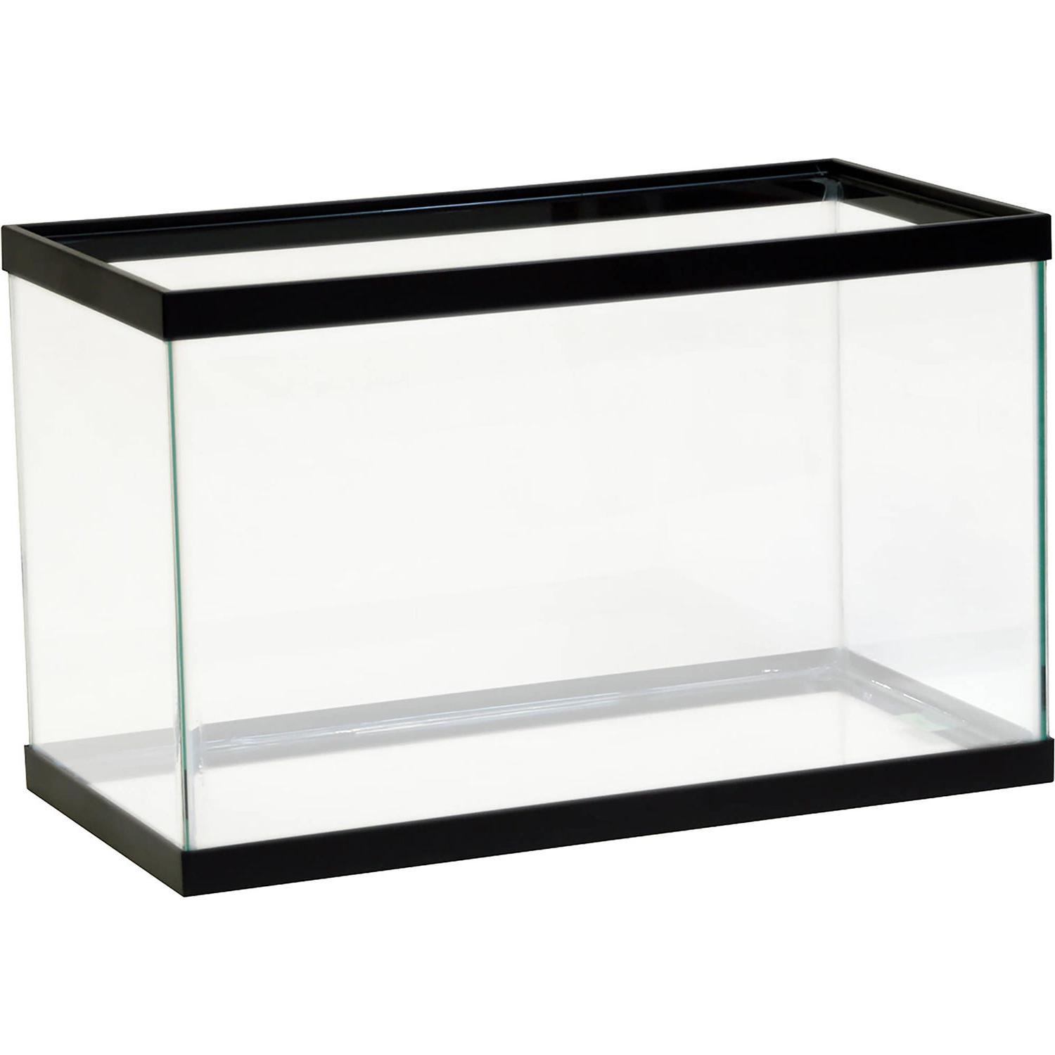 10 Gallon Aquarium Glass Pet Aqua Home Fishes