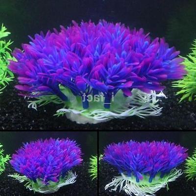 fish tank aquarium decor accessories artificial water