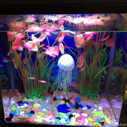 Fish Tank Artifical Animal Grass