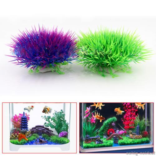Fish Tank Artifical Grass Plant