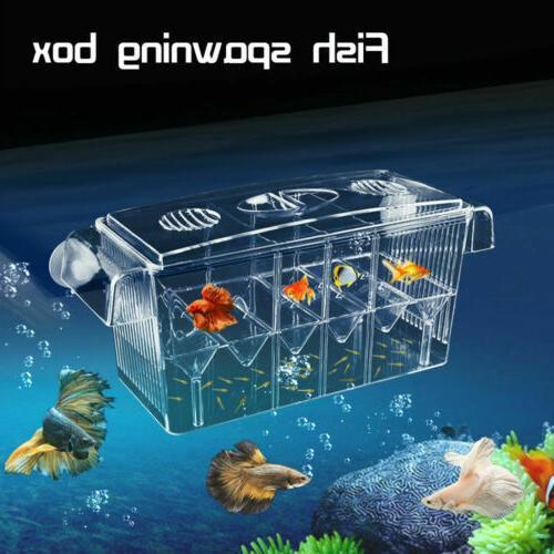 Fish Tanks Aquarium Guppy Breeding Breeder Baby/Fry/Newborn