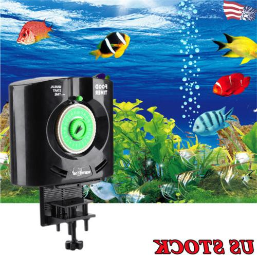 fish tanks automatic fish food feeder timer