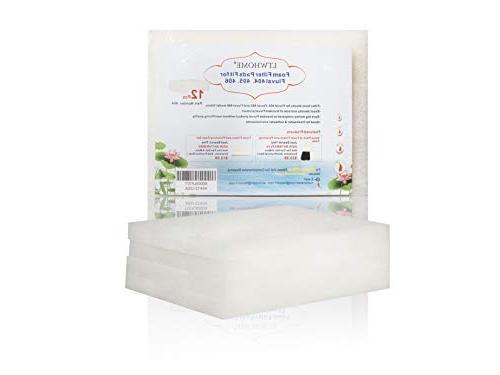 LTWHOME Foam for Fluval External Filter