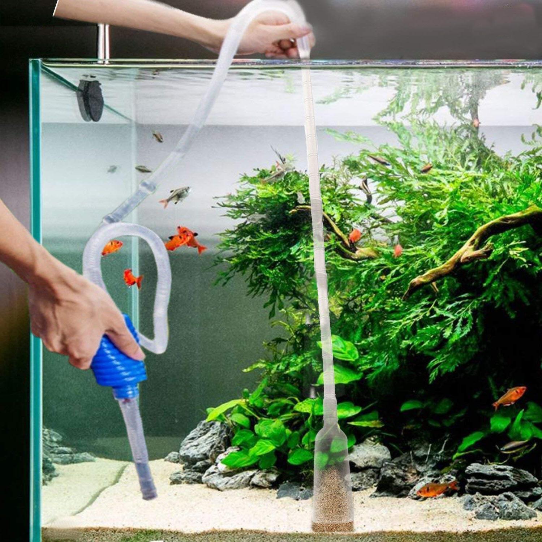 <font><b>Aquarium</b></font> <font><b>Tank</b></font> Vacuum <font><b>Water</b></font> Change Gravel Suction Pipe Fish <font><b>Tank</b></font> Change