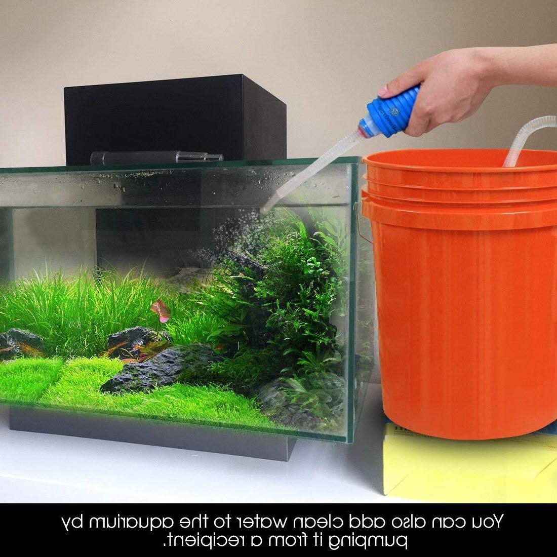 <font><b>Aquarium</b></font> Fish <font><b>Water</b></font> Change Suction Pipe Filter Fish <font><b>Water</b></font> Change Pump Filters