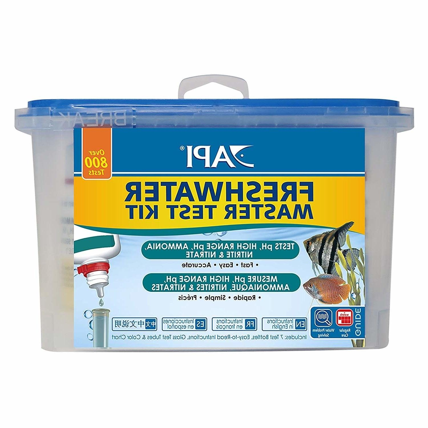 freshwater master test kit aquarium fish tank