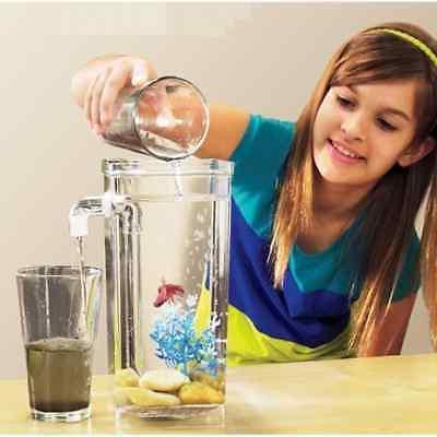 fun fish tank self cleaning