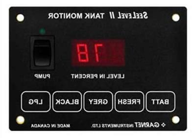 garnet 709 p3w seelevel ii tank monitoring