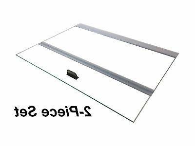 H2Pro Glass Canopy for Aqueon All Glass 75/90/110 Gallon 48x