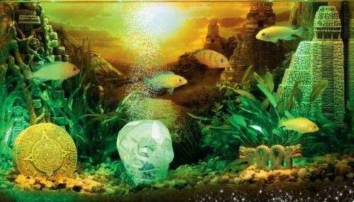 "Hydor Civilization - Crystal Decoration 5"" x 3.5"" x 4.5"""
