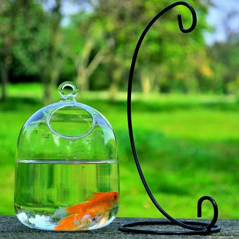 Hanging Transparent Glass Aquarium