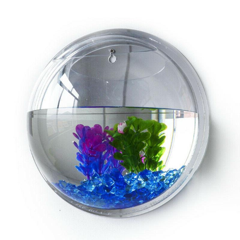 Wall-mounted Fish Bowl Goldfish Box