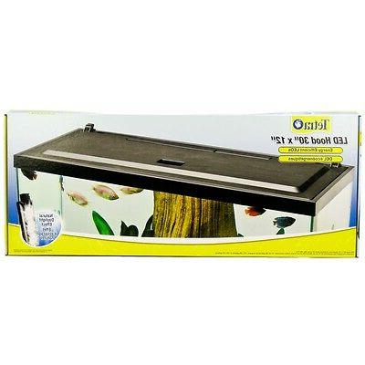 Tetra LED Hood for Aquariums x 12""
