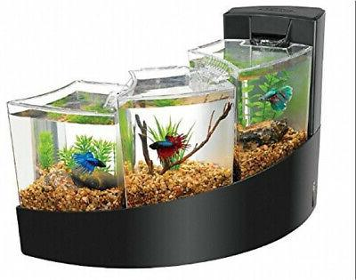 kit betta falls white aquarium