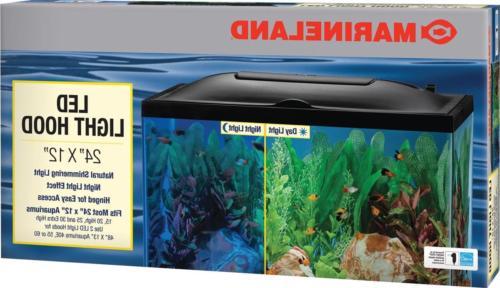 led aquarium hood 24 12 gallon aquariums