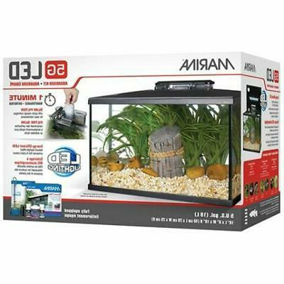 led aquarium kit 5 gallon pet supplies