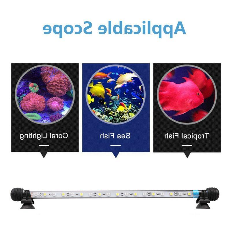 LED Glass Strip Bar Lights Fish Tank Underwater Lamp