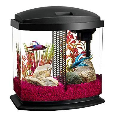 led bettabow aquarium starter kits with led