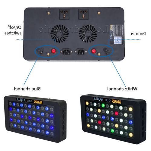 Mars 165W LED Aquarium Spectrum Lighting