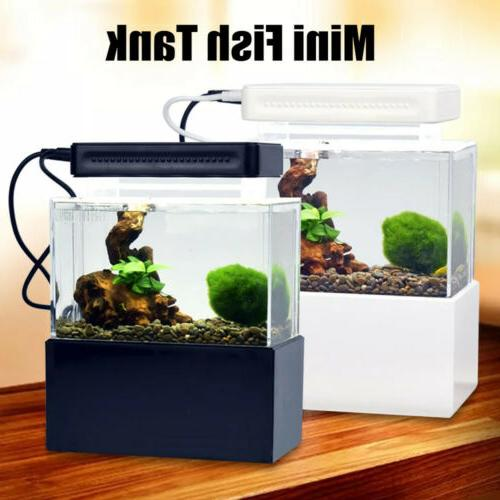 mini aquarium fish tank fish bowl