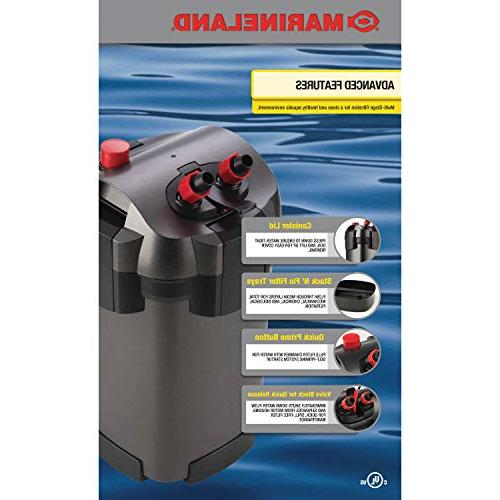 MarineLand Canister for Aquariums, Easy