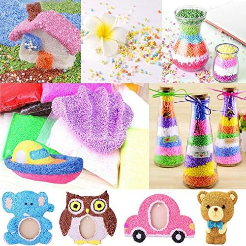 Mucus Supplies 88 Packs Including Beads, Fruit Tank Slime Colored Round Pearls, Candy Paper Accessories, Slime