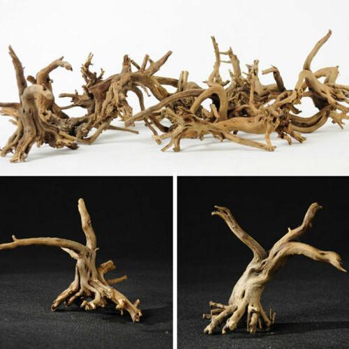 Natural Tree Trunk Driftwood Aquarium Fish Plant Wood Decor US