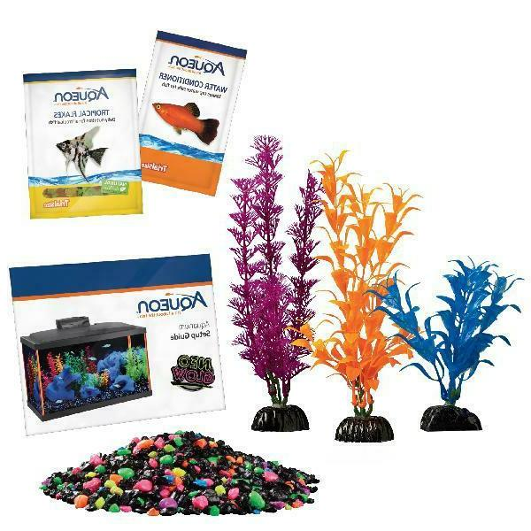 Aqueon NeoGlow Gallon Aquarium Kit