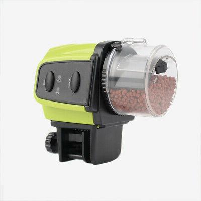 Plastic Digital Time Automatic Auto Fish Food Feeder F Aquar