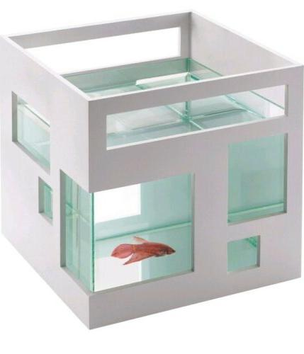new fish bowl modern apartment fishhotel aquarium