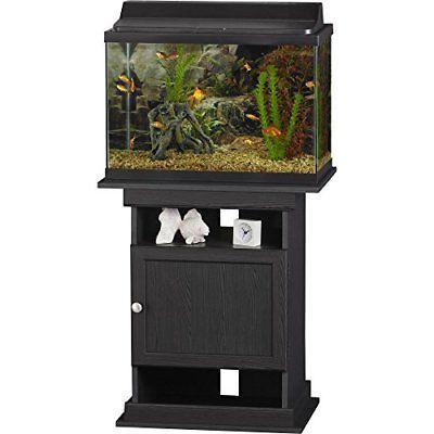 NEW Ameriwood 10/20 Aquarium Black Oak