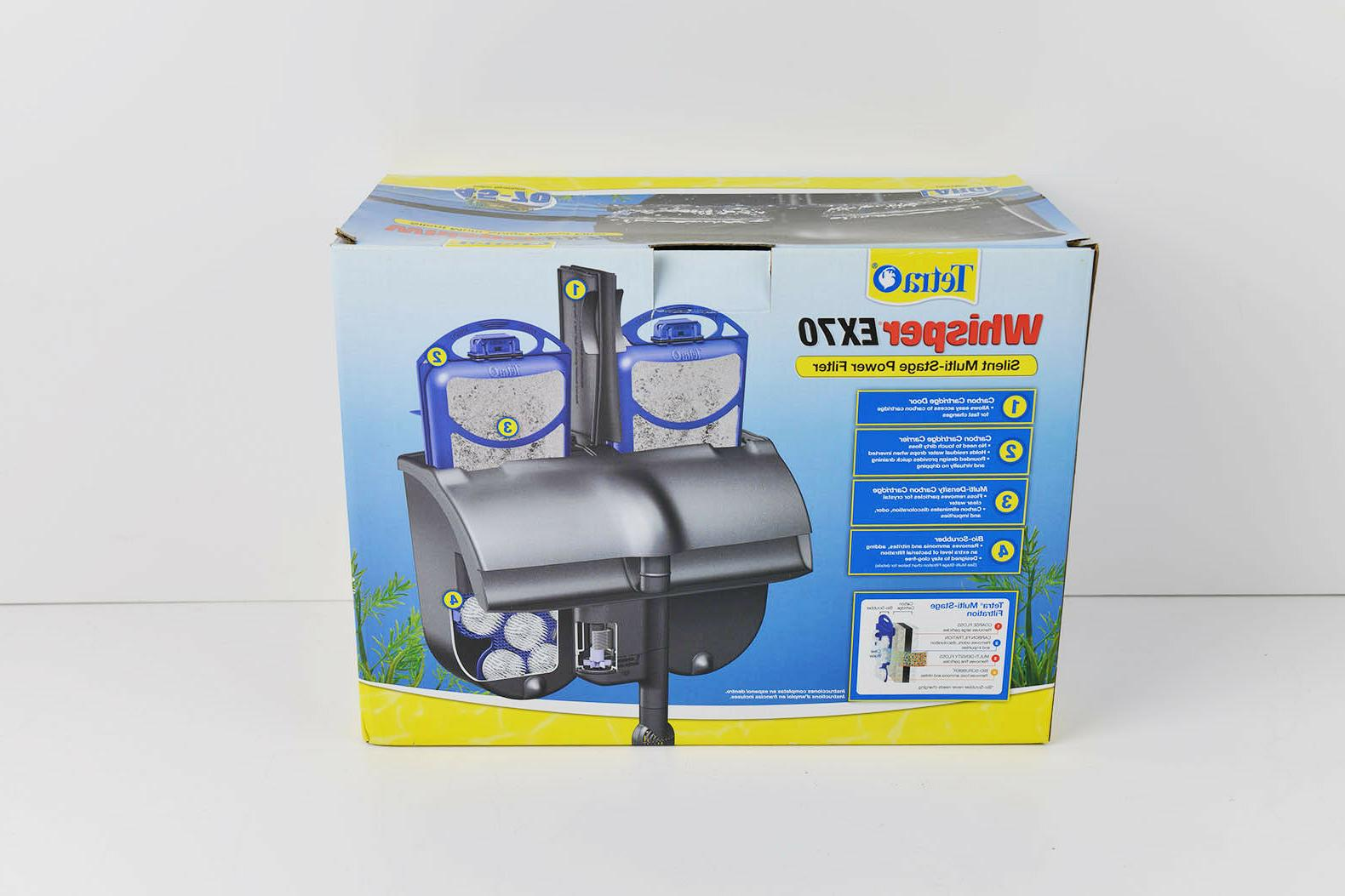 New EX70 Silent Power Fish Tank Fits 45-70 Gallon Aquariums