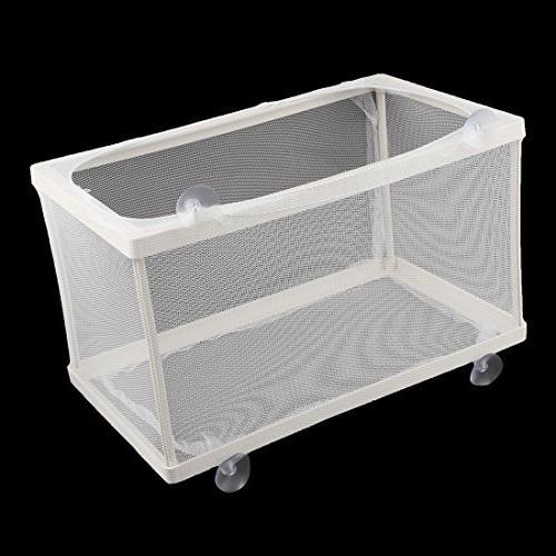 uxcell Nylon Mesh Fry Box Separation Net White