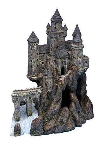 penn plax castle aquarium decoration