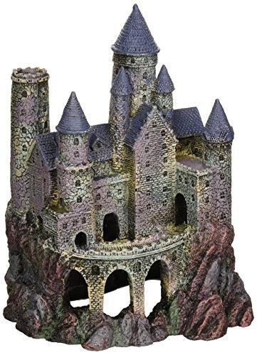 penn plax wizard castle aquarium