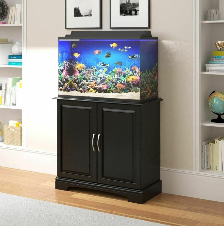 Pet Aquarium Stand 29 Gallon 36 Fish Tank Holder Cabinet She