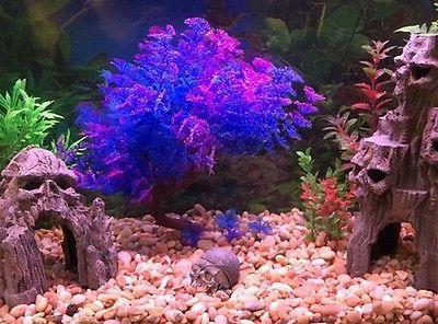 Plastic Grass Fish Tank Aquarium Accent Underwater Plants Ornament