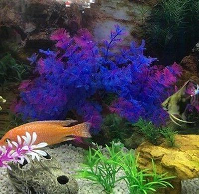 Plastic Aquarium Accent Underwater Ornament Artificial
