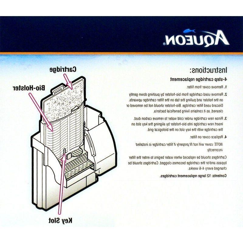 Aqueon QuietFlow Replacement Filter Cartridge Medium Shipping