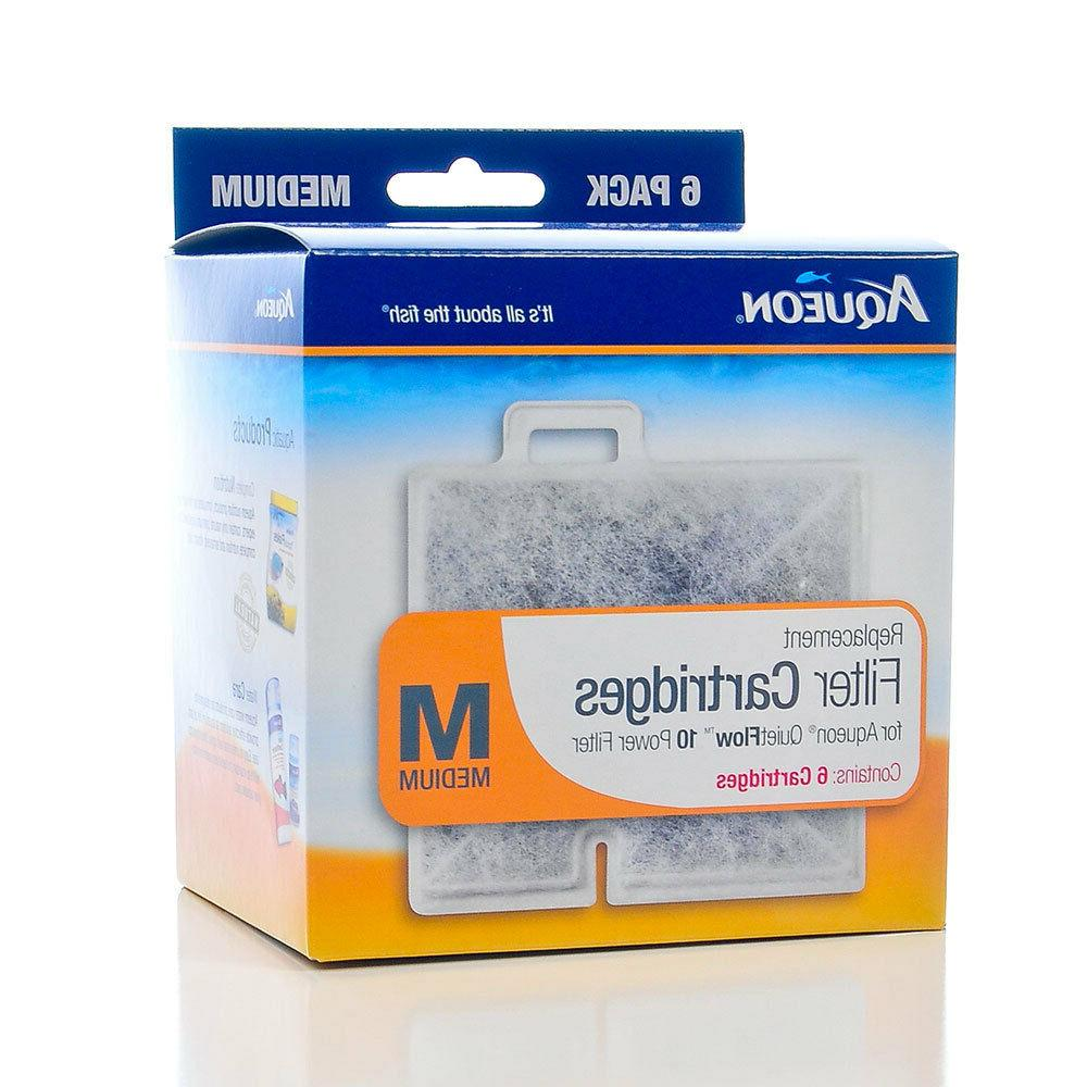 Aqueon QuietFlow Replacement Cartridge - Medium Free Shipping