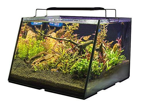 Lifegard Aquatics R800207 Full-View 7 Gallon Built-in Back