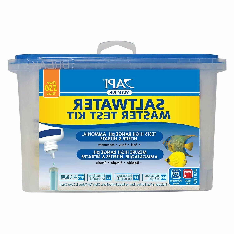API Saltwater Master Test Kit 550-Test Water Kit