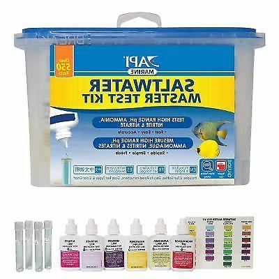 saltwater master test kit 550 test saltwater