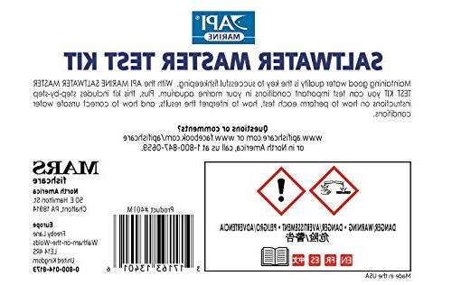 API SALTWATER MASTER KIT 550-Test Water Test Kit